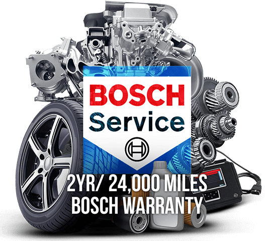 2 Years/24,000 Miles Bosch Warranty